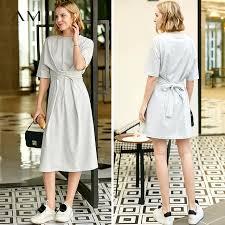 Online Shop <b>Amii Minimalist</b> Women <b>Dress</b> Spring Summer 2019 ...