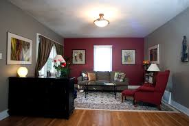 Red Wall Living Room Decorating Maroon Paint For Bedroom Cost 0000 Elbow Grease I Love It