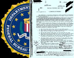 Registros del FBI