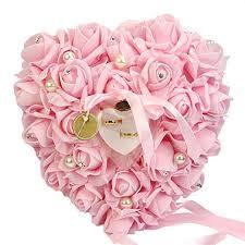 TRENTON Romantic Rose Heart Shaped Ring Box ... - Amazon.com
