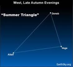 Summer <b>Triangle</b> in northern autumn | Tonight | EarthSky