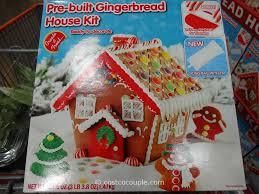 create a treat pre built gingerb house kit create a treat pre built gingerb house kit costco 4