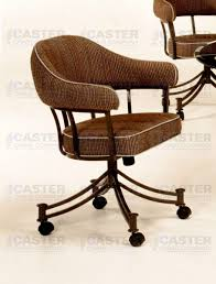 swivel dining chairs casters  lodge chair