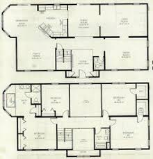 ideas about Two Storey House Plans on Pinterest   House    Fascinating Two Story House Plans Spacious Family Room With Corner Kitchen   the living can be the guest room   an onsuite so the bed on the second floor
