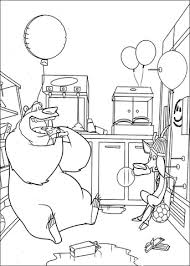 Small Picture Boog And Elliot In The Kitchen coloring page Free Printable