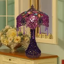 bohemian style fashion vintage table lamp table lamp bed lighting lighting beaded lighting free shipping bohemian lighting