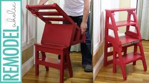 How to Build a DIY Ladder Chair; Space-Saving <b>Multipurpose</b> ...