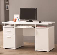 stylish cappuccino finish home office computer desk desks for office most seen ideas featured in white amazoncom coaster shape home office