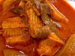 asam pedas ikan pari.resepi asam pedas ikan pari, ikan paling sedap untuk masakan asam pedas,