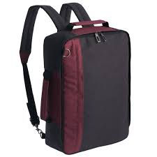 <b>Рюкзак</b> для ноутбука <b>2 в</b> 1 twoFold, серый с бордовым (артикул ...