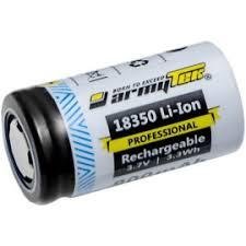 <b>Аккумулятор Armytek 18350</b> Li-Ion 900mAh. Заряжаемый ...