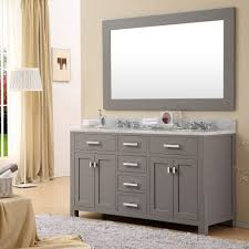white double sink bathroom water creation madison  madison quot solid white double sink bathroom vanity
