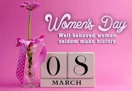 <b>Happy Women's Day</b> !