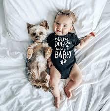 <b>0 24M Infant</b> Newborn Baby Girls Boys Short Sleeve Every Dog ...