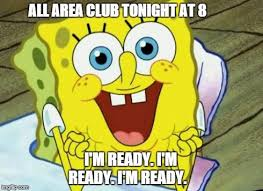 Spongebob hopeful Meme Generator - Imgflip | Young Life Club ... via Relatably.com
