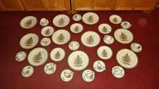 Новогодняя елка столовый сервиз <b>spode</b> China и столовая <b>посуда</b>