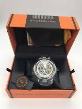 Повседневные наручные <b>часы</b> кожаный ремешок <b>Stührling</b> ...