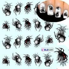 5pcs паука узор <b>ногтей маникюр</b> поставок <b>наклейка</b> – купить по ...