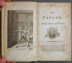 cabinet 11 periodicals a quick stab at the eighteenth century tatler richard steele s