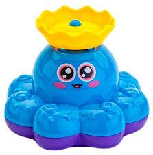 <b>Игрушка</b> для ванной <b>BRADEX Фонтан</b>-<b>осьминожка</b> — купить по ...