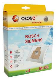 <b>Мешки</b>-<b>пылесборники OZONE</b> micron <b>M</b>-06 для Bosch/Siemens ...