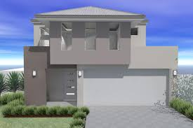 The Avonmore is a Narrow Storey Design Suited for m Wide BlocksA delightful bedroom  bathroom two storey home  The ground floor hosts bedrooms  bathroom and separate powder room  open plan living area