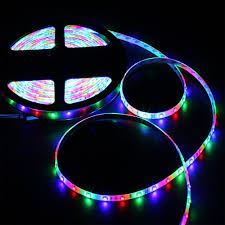 <b>3x5M 2835 RGB</b> LED Strip Light with 44 Key IR Controller 1 to 3 ...