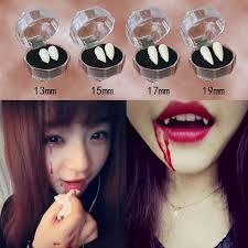 1 Pair Horrific <b>Vampire</b> Dentures <b>Halloween</b> Zombie Teeth Cosplay ...