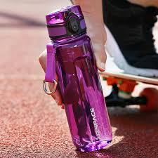 Sport Water Bottle 500/<b>1000ml Portable</b> Leakproof <b>Outdoor Bicycle</b> ...