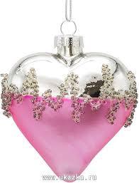 Товары для Нового года - <b>Украшение елочное Сердце</b>, <b>7</b> см ...