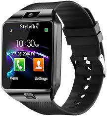 Styleflix <b>Smart Watch</b> Bluetooth with Camera Sim Card Supported ...