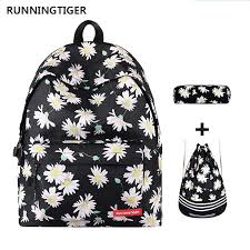 <b>RUNNINGTIGER</b> Backpack Women Eiffel Tower <b>Printing</b> Backpack ...