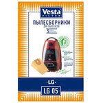 «<b>Vesta filter</b> LG 03 S <b>комплект пылесборников</b>, 4 шт + 2 фильтра ...