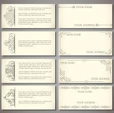 envelope card templates vector envelope card templates vector vectors