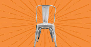 This <b>metal chair</b> is in every cafe, bistro, and restaurant - Vox