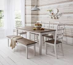pine extending dining table and chairs