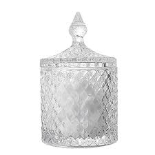 nordic storage crystal glass bottle