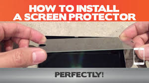 How to install ANY <b>screen protector</b> PERFECTLY - 10 steps ( plus 3 ...