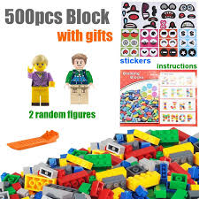 <b>500pcs</b> DIY Creative Brick <b>Technic</b> City Creator House Designer ...