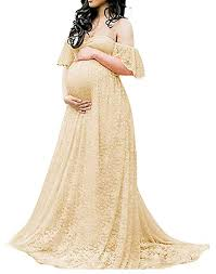 humor bear summer clothes for pregnant women lace maternity dresses photography props fashion pregnancy dress