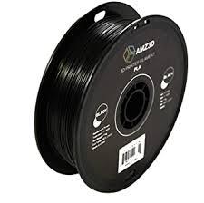 1.75mm Black PLA 3D Printer Filament - 1kg Spool ... - Amazon.com