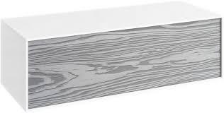 <b>Тумба миллениум серый/белый</b> глянец 100 см Aqwella 5 Stars ...