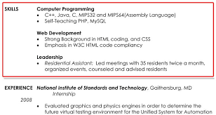 resume example computer skills section resume  seangarrette coresume example computer