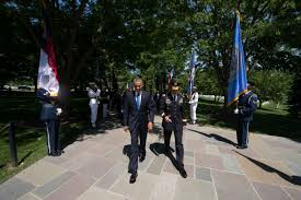 u s department of defense photo essay president barack obama walks through an honor cordon during a memorial day ceremony at arlington national