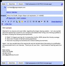 email resume and cover letters template email resume and cover letters