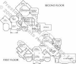 Empty Nester Home Floor Plans  Prestonwood plan