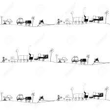 traffic jam kid s drawing seamless pattern royalty cliparts vector traffic jam kid s drawing seamless pattern