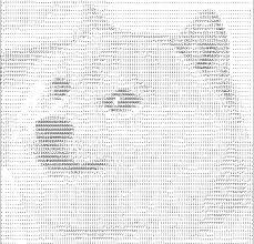 Poker Face Meme Text Art - poker face meme ascii art due to poker ... via Relatably.com