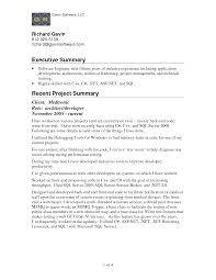 doc 672870 outstanding qualifications summary on resume brefash summary sample resume for executive summary objective resume