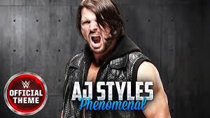 <b>AJ Styles</b> - Phenomenal (Entrance Theme) - YouTube
